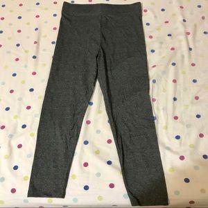 F21 gray yoga pants